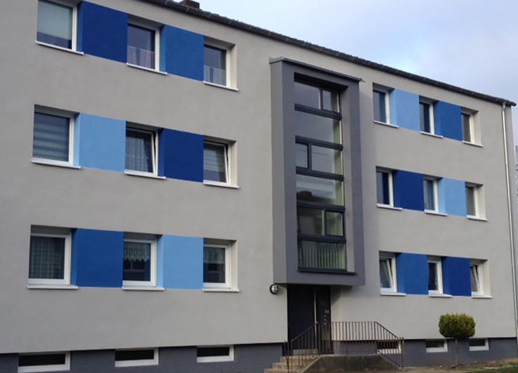Rosenstraße Fassade